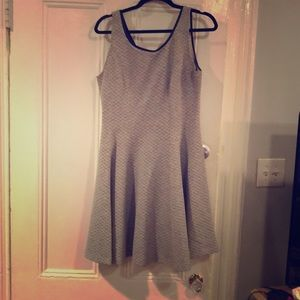 Club Monaco Fit and Flare Dress